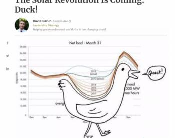 """光伏给电网带来""""鸭子""""负荷曲线,<em>储能</em>是最好的""""烤鸭""""<em>技术</em>"""