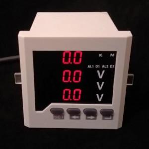 多功能电力仪表数码管显示带485通讯