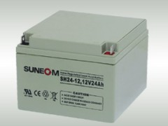 SUNEOM蓄电池新能SH24-12/12v24ah价格