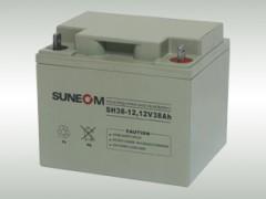SUNEOM蓄电池新能SH38-12/12v38ah代理
