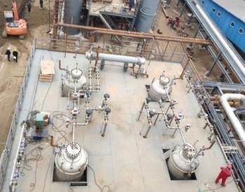 中国首个锅炉烟气二氧化碳捕集纯化和制氮项目开车成功