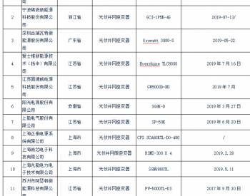 国家公布年度<em>光伏逆变器</em>抽查结果:华为、古瑞瓦特、锦浪科技、爱士惟、固德威、阳光...