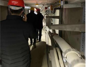 江苏南通市地下管线处现场抽查市区地下电力管网安全运维情况