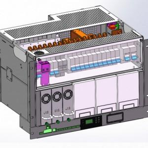 中国移动通信中继站嵌入式太阳能发电系统|50A模块化MPPT