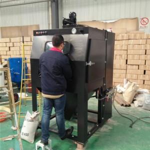 铝制品表面翻新喷砂机