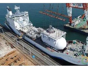 全球首艘液化氢运输船成功搭载液化氢<em>储罐</em>