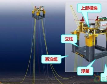 中国海油实现深水超<em>大型</em>海洋<em>油气</em>平台导管架设计建造新突破