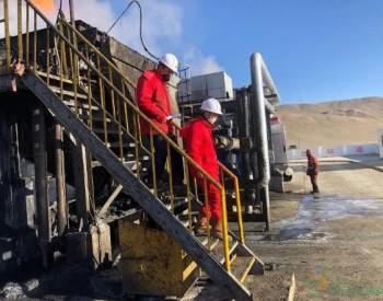 青海采油一厂高含油污泥转运安家落户