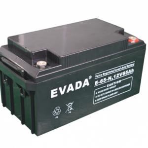 EVADA免维护蓄电池,爱维达品牌蓄电池12v65ah