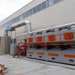 催化燃烧净化设备活性炭塑胶有机废气处理技术