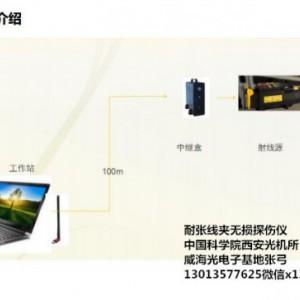 耐张线夹便携式X光机采用进口脉冲放射源平板探测器高清图像