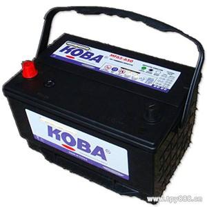 韩国KOBA蓄电池MF210H52柴油发电机专用电瓶