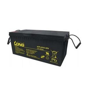 台湾广隆蓄电池WPL1235W规格尺寸官网