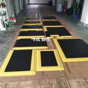 站立耐用抗疲劳垫,过道防疲劳地垫,防静电胶板