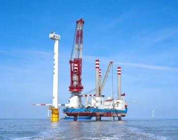 """重磅!国内首座1200吨自航自升式风电安装平台""""振江号""""首吊成功!..."""