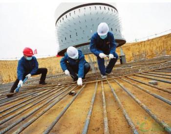 <em>山西</em>五寨杏岭子100兆瓦风电项目加速建设