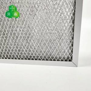 铝箔网与菱形网复合初效过滤网