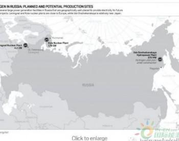 普氏<em>能源</em>:<em>俄罗斯</em>对氢能进行投资,和澳大利亚一起就日本氢能市场展开竞争