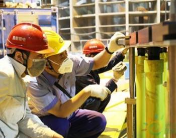 世界首台百万千瓦水轮发电机组转子叠片工作正式开始