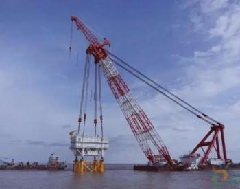 中标|振华重工中标海上升压站吊装项目