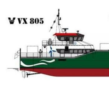 中标 | 东方船研中标2艘双体风电运维船