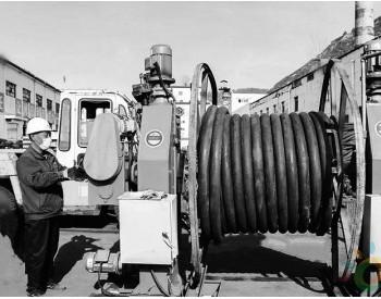 霍州煤电庞庞塔矿投用无轴电动升降收线机
