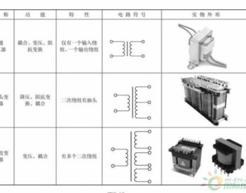 变压器的识别方法及应用电路