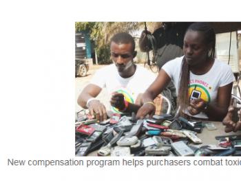 新的补偿计划有助于购买者对抗有毒电子垃圾