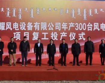 內蒙古中電科耀<em>風電</em>設備有限公司年產300臺風電塔架生產線項目投產