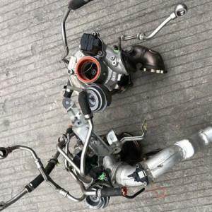 宝马760 劳斯莱斯6.0涡轮增压器 三元催化 发电机