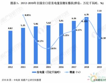 <em>发电量</em>突破7万亿千瓦时!2019年全年中国发电行业发展现状分析