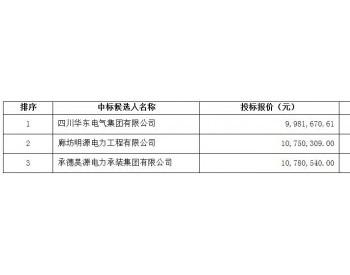 中标|华东电气集团中标中广核河北张北新胜50MW<em>风电场</em>项目220kV升压站土建及电气安装...