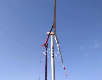 <em>国投</em>白银风电超额完成月度发电目标,顺利完成首台风机吊装