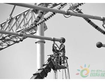 安徽省500千伏同乐滁州变电站建设工地复工复产施工一线