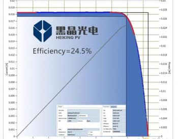 黑晶光电钙钛矿/<em>PERC</em>叠层电池效率达24.5%