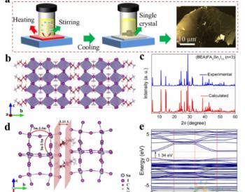 化学所等制备高效高稳定的二维钙钛矿光伏器件