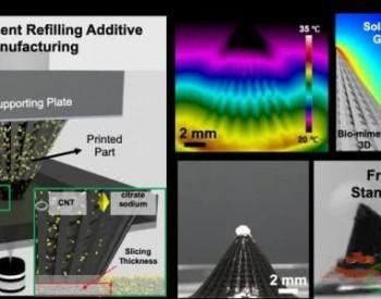 研究人员利用3D打印技术构造海水淡化结构,可实现高效光热转换