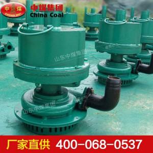 风动涡轮潜水泵使用条件 FWQB70-30风动涡轮潜水泵