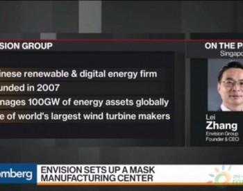 远景CEO张雷:疫情对可再生能源行业影响有限,远景风机产能全年增长可期