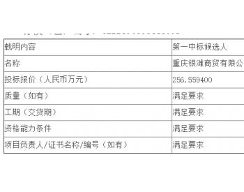 中标|四川公司四川华蓥山电厂2020年度脱硝尿素采购项目公开<em>招标</em>中标候选人公示