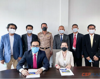 5亿美元!中能建葛洲坝国际逆势签约泰国90MW<em>光热光伏</em>项目EPC合同