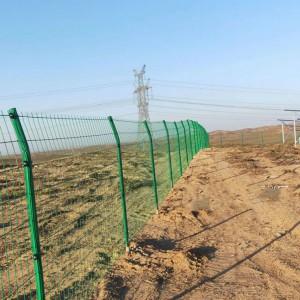 光伏电站场区加装防护网 光伏增加防护围栏 修复光伏铁丝围栏