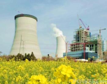 世界最大火电机组排烟冷却塔结构封顶