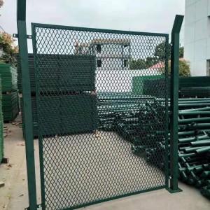 核电站钢丝网围墙 核电站保护区围栏 核电园区外围防爬护栏