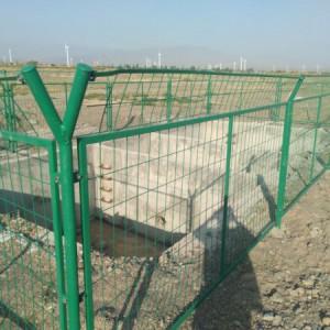井场围栏栏杆  石油钻井场隔离护栏 油田集气站钢丝网围墙