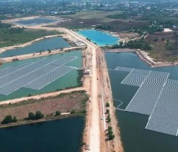 泰国最大水面漂浮电站顺利并网