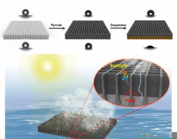 """太阳能利用效率可达97%!浙江大学研制出具有不对称亲/疏水性的光热""""两面神""""膜"""