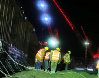 世界海拔最高西藏DG水电站鱼道首仓混凝土成功浇筑