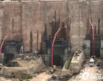 老挝<em>南屯1水电站</em>尾水出口闸室门槽提前4天完成金结交面