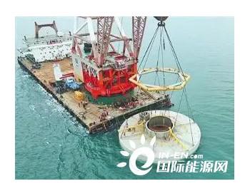 福建莆田平海湾海上风电施工技术获新突破